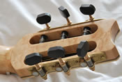 Curly Grafted Black Walnut Classical Guitar