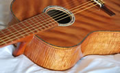 Highly-Flamed Koa Classical Guitar
